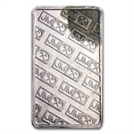 5 gram Johnson Matthey Silver Bar (Scruffy) .999 Fine