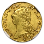 France 1786-I 2 Louis D'or Gold NGC AU-53