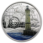 Benin 2012 1000 Francs CFA Lighthouse - Lindau