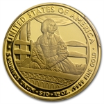 2010-W 1/2 oz Proof Gold Jane Pierce PR-70 PCGS DCAM