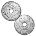 Papua New Guinea Coin Set - 6 Coins