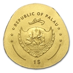 Palau Gold $1 Golden Ladybug Coin (1/2 gram of Pure Gold)