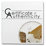 Palau 2012 .594 oz Silver Proof $5 World of Wonders-Western Wall