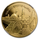 2010 Israel Akko 1/2 oz Proof Gold PF-70 UCAM NGC