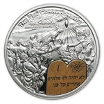 Palau 2011 Silver $2 Ten Commandments - First Commandment