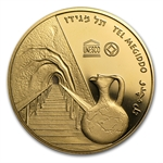 2012 Israel Tel Megiddo Proof 1/2 oz Gold Coin (w/ box and coa)