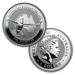 1990-2014 1 oz Silver Kookaburra 25 Coin Set In Presentation Box