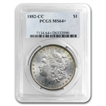 1882-CC Morgan Dollar - MS-64+ Plus PCGS