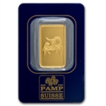 10 gram Zodiac Pamp Suisse Gold Cancer the Crab Bar(In Assay)