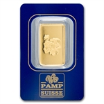 10 gram Zodiac Pamp Suisse Gold Capricorn the Goat Bar(In Assay)