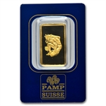 10 gram Zodiac Pamp Suisse Gold Bar(In Assay) - Taurus the Bull