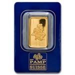 10 gram Zodiac Pamp Suisse Gold Bar(In Assay) - Libra the Scales