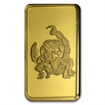 10 gram Zodiac Pamp Suisse Gold Bar (In Assay) - Scorpio
