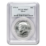 1976-S Eisenhower Dollar MS-67 - PCGS - Bicentennial Mint Set