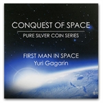 2011 1 oz Silver Niue $2 Coin - First Man in Space