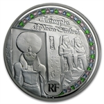 2012 50 Euro 5 oz Silver Proof Egyptian Heritage - Abu Simbel