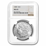 1889 Morgan Dollar - MS-65 NGC