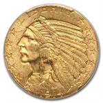 1914 $5 Indian Gold Half Eagle - MS-63 PCGS