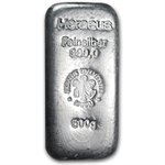 500 gram Heraeus Silver Bar (1/2 kilo, Poured)