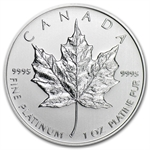 2013 1 oz Canadian Platinum Maple Leaf