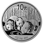 2013 1 oz Silver Chinese Panda (In Capsule)