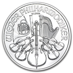 2013 1 oz Silver Austrian Philharmonic - Brilliant Uncirculated