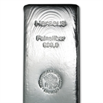 5000 gram Heraeus Silver Bar (5 kilo, Poured, 160.75 oz)