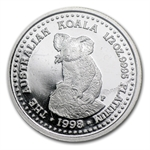 1998 1/2 oz Australian Platinum Koala (Proof)
