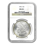 1896 Morgan Dollar MS-65+ Plus NGC