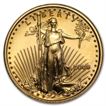 2000 1/10 oz Gold American Eagle - Brilliant Uncirculated