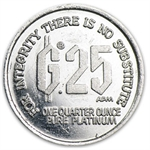 1/4 oz Platinum Free Choice of Currencies