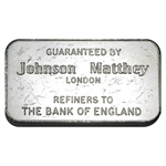 100 gram Johnson Matthey Bar (London - Schweizerischer) .999 Fine