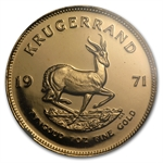 1971 1 oz Gold South African Krugerrand NGC PF-66UC