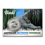Royal Australian Mint 2013 Silver Saltwater Crocodiles - Bindi