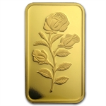 1 oz Pamp Suisse Gold Bar - Rose (No Assay)