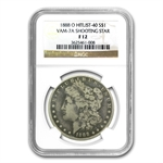 1888-O Morgan Dollar Fine-12 NGC VAM-7A Shooting Star Hit List-40