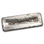 99.87 oz Brown Materials Silver Bar .999 Fine