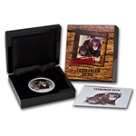 2013 1 oz Proof Silver Tasmanian Devil - Endangered and Extinct
