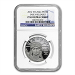 2012-W 1 oz Proof Platinum American Eagle NGC PF-69 Early Release
