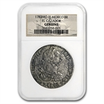 El Cazador Shipwreck 8 Reales Silver Collection NGC - Genuine
