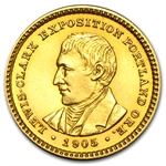 1905 $1.00 Gold Lewis & Clark - Uncirculated