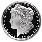 12 oz Silver Round - Morgan Dollar - .999 Fine