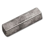 50 oz U.S. Silver Corporation Silver Bar .999 Fine