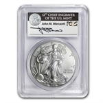 2011-S 1 oz Silver Eagle MS-69 PCGS 25th Anniv (FS) BL
