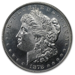 1878 Morgan Dollar - 8 TF MS-63 VAM-14.4 Concave Reverse