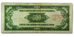 1934-A (B-New York) $500 FRN (Fine+)