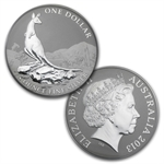2013 1 oz Australian Silver Kangaroo (In Display Card)