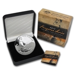 2013 1 oz Australian Proof Silver Kangaroo (Box and COA)