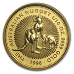 1996 1/10 oz Australian Gold Nugget