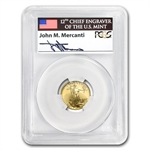 2007-W 1/10 oz Proof Gold American Eagle PR-69 PCGS John Mercanti